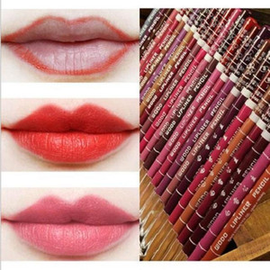 Lip Penciles Lipliners Hot Sale 28 Colors Waterproof Lip Pencil Eyeliner Lip Eye Liner Pencil MakeUp Wholesale Free Shipping 0068-120MU
