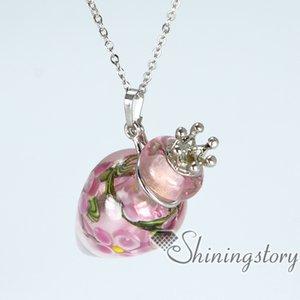 Ожерелье из урны для праха Ожерелье с подвеской из пепла Памятные подвески Ожерелье для урны на память Ожерелье для урны