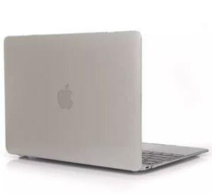 Custodia rigida Crystal Clear plastica di copertura del manicotto protettivo per MacBook Air Pro Retina Laptop 11 12 13 15 colori trasparenti anteriore + posteriore del campione