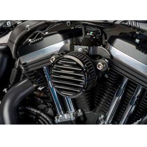Nuovo filtro dell'aria di arrivo + sistema di filtri di aspirazione per Sportster XL883 1200 04-UP Rough Crafts