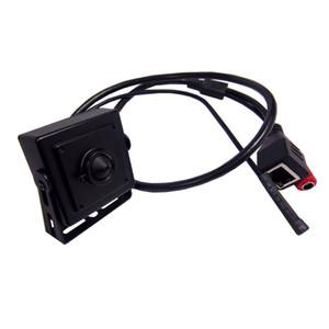 Mini IP Ses video Kamera Ev Güvenlik Iğne Deliği Kamera IP Kamera mikrofon kamera Düşük Lux Desteği P2P Tak ve Çalıştır