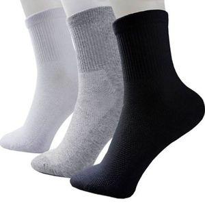Heißer Verkauf Mode Sommer Stil NEUE Männer Guy Cozy mix Baumwolle Sport Socken Schwarz Weiß Grau Farben Hohe Qualität Beliebte atmungsaktive mesh design
