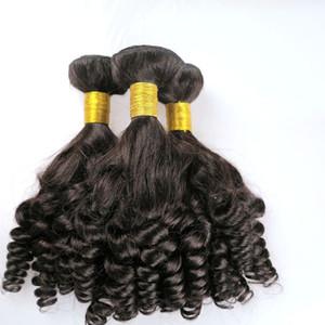 Mink Virgin Extensiones de Cabello Humano Brasileño Paquetes de Funmi Tramas Sin Procesar Peruano Indio Mongol Bohemio Tejidos de pelo al por mayor