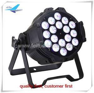 12pcs DMX512 / Master / Slaver / Stand alone 18x18w 6in1 par, par led 64 dmx led par light