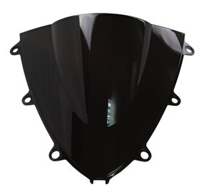 Motorrad Doppel Bubble Windschutzscheibe Windschutz für 2008-2011 Honda CBR1000RR CBR 1000 RR 2009 2010 08 09 10 11 Schwarz