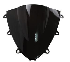 Motorcycle Double Bubble Windshield WindScreen For 2008-2011 Honda CBR1000RR CBR 1000 RR 2009 2010 08 09 10 11 Black