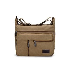 Men's Crossbody Bag Multifunctional Men Casual Bag High Quality Male Shoulder Messenger Bags Canvas Handbag