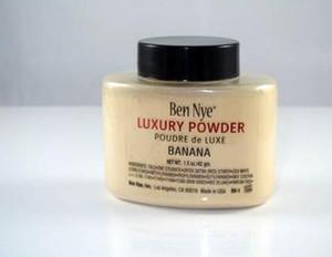 Hot Ben Nye Poudre New naturel Visage Poudre imperméable Nutritif Banana Brighten longue durée
