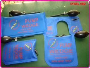 КЛом маленький/ средний/большой/U размер воздушный клин воздушный насос клин надувные разблокировать дверь автомобиля 4 шт./лот бесплатная доставка синий цвет