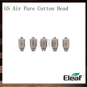 iSmoka Eleaf 1.2ohm GS Air Pure Cotton Head GSAir Dual Coils Testina di ricambio per bobina per atomizzatore GS Air Atomizzatore GS-Tank 100% originale