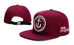 2019 새로운 패션 스냅 백 모자 핑크 돌고래 브랜드 snapback 야구 모자 핑크 돌고래 모자 남성용 strapback 11 스타일 선택