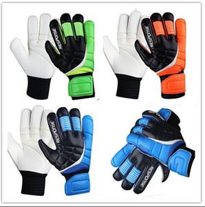 Fingerstall profesyonel futbol kaleci eldivenleri parmak koruması LATEX palm ile Toptan-Yeni Top Lateks Kaleci Eldivenleri Futbol