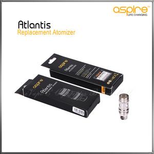 100% Original Genuíno Aspire Atlantis Substituição Atomizers Aspire BVC Bottom Vertical Bobinas Atlantis Sub ohm Bobina 0.5 0.3 1.0 ohm Disponível