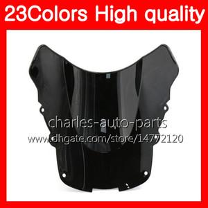 100% nuevo parabrisas de motocicleta para HONDA CBR1100XX Blackbird 96 97 98 99 00 01 02 03 04 05 06 07 1100XX Chrome Black Clear Smoke Parabrisas
