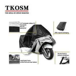 TKOSM S M L XL XXL XXXL Su Geçirmez Açık Kapalı Motosiklet Cruiser Sokak Spor Bisikletleri Kapak UV Koruyucu Motosiklet Yağmur Toz