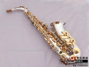 Nuovo YANAGISAWA A-W037 Sassofono chiave d'oro con placcatura in argento Sassofono alto tono eb con bocchino, custodia, guanti