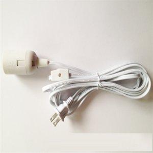 Cable de alimentación de la lámpara IQ con interruptor de encendido y portalámparas E 26 y cable de cable de la lámpara de 12 pies de largo