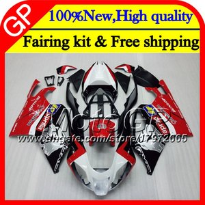 Body For Aprilia RSV1000R Mille RSV1000 RR 03 04 05 06 07 08 2GP9 RSV 1000R Red silvery 03 2003 2004 2005 2006 2007 2008 Motorcycle Fairing