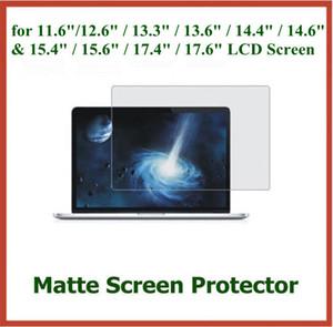"""500 adet Anti-glare Mat Ekran Koruyucu için 11.6 """"12.6"""" 13.3 """"13.6"""" 14.6 """"15.6"""" 17.4 """"17.6"""" Laptop LCD Ekran Koruyucu Film"""