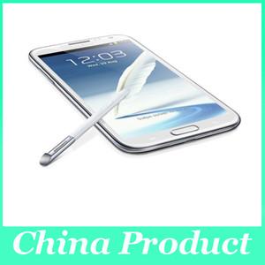 """Telemóvel original 5.5 """"do andróide 4,1 da câmera do núcleo 8MP do quadrilátero da nota 2 N7100 da galáxia de Samsung Samsung"""" HD 1GB RAM"""
