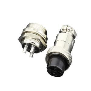 5 Setleri / kitleri 3 PIN 12mm GX12-3 Vida Havacılık Konnektör Fişinin havacılık fiş Kablo konektörü Düzenli fiş ve priz