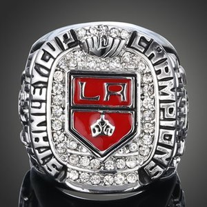 Fans Ring N.H.L.ice hockey championship rings 2014 Los Angeles Kings Stanley Cup championship rings