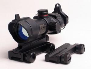 Airsoft taktischer ACOG 1x32 grüner Punkt Anblick Bereich für Gewehr-Bereich