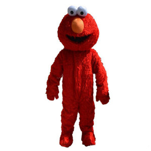 2018 Usine vente directe elmo mascotte costume taille adulte elmo mascotte costume livraison gratuite
