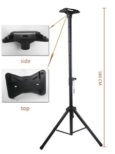 [Ganxin] Large Professional Flexible Tripod Indoor and Outdoor Use Metal Stand Extendable and Foldable Scoreboard Extendable Holder