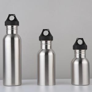 Бутылка воды для взрослых фитнес спорт чайник для открытый портативный питьевой инструменты из нержавеющей стали сохранение тепла Кубок 8sz3 C R