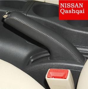 Handbrake чехол для Nissan Qashqai натуральная кожа Handbrake рычаг крышки авто украшения интерьера DIY Handbrake рукава автомобильные чехлы