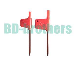 T6 T7 T8 T9 T10 T15 T20 Torx отвертка гаечный ключ Малый красный флаг отвертки инструменты 2000 шт. / лот