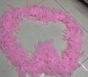 깃털 스카프 1m 깃털 스트립 결혼식 Marabou Feather Boa