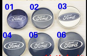 Frete Grátis 4 PCS Auto Car Center Roda Tampas de Roda Tampas de Hub 58 65 69mm Emblema Hubcaps Hub Cap Para Ford Focus mondeWheel capas