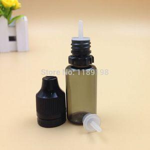 Venda por atacado- 100pcs 15ml garrafas de plástico com tampa chilproof, inviolável pressão de segurança rotary garrafa, garrafas de PET plástico transparente conta-gotas