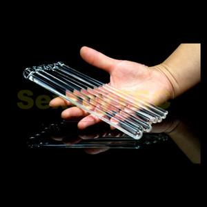Уретральный стекло 8шт. Катетер Pyrex Полный Усилитель English Sounds Sounds Penis Plugs Звучат кристалл Дилаторные игрушки Toys Секс Большое Небольшое устройство S FDIP