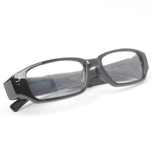نظارات كاميرا HD 720 * 480 نظارات DVR كاميرا ذات الثقب يمكن ارتداؤها Mni DVR poratable مسجل الصوت والفيديو رخيصة الثمن في صندوق البيع بالتجزئة