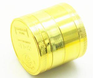 4 слоя диаметра 40MM стана дыма сплава цинка золота 50MM 55M 63MM 75MM выключатель перегара
