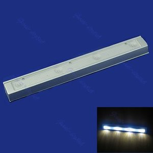 Wholesale-LED Shaking Sensor Motion Sensitive Detector Light Kitchen Closet Cabinet Lamp