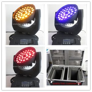 2light with fly case 36x18w 6 in 1 led zoom moving head LIGHT