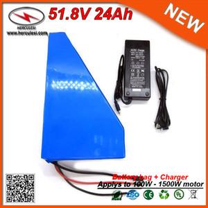 Scooter électrique puissant 1500W rechargeable 51.8V 52V 24Ah Ebike batterie en lithium-ion Samsung batterie portable 18650 BMS