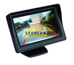 """Nueva venta caliente de buena calidad 12V 4.3 """"HD TFT LCD reverso del coche cámara de visión trasera Monitor"""