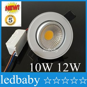 Nature White 4000K LED COB Downlight Dimmable 10W 12W Warm / Cool White أدى ضوء السقف راحة AC 11102-40V + Warranty 3 years + Drivers