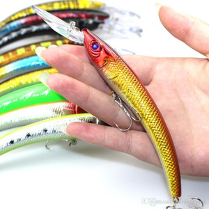 Camouflage Bleeding escape Crankbait Shad Lure 150mm 16.3g 10 colori Flicker Blabbermouth Crank esche Pesca Jerk esca