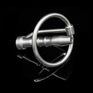 Wholesale - Male Stainless steel Bondage TUBE Urethra Chastity Dilatator Gay Fetish A001