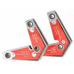 Dual Purpose Suporte magnético da soldadura de fixação fixo Welding Jig Otário