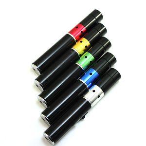 El más nuevo Vapor Sneak A Vape Vaporizador Quemador de Incienso Click N Vape Que Fuma Tubo De Metal Neak A Toke Butano Encendedor de Tubo De Vidrio