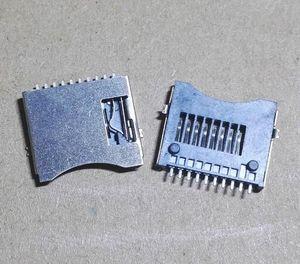 200pcs TF 카드 슬롯 마이크로 sd 카드 소켓 카드 홀더