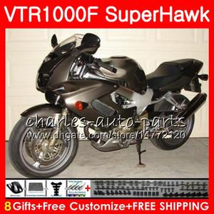 HONDA SuperHawk VTR1000F Gövde Gümüş 1997 1997 1999 1999 2000 2002 2003 2004 2005 91NO59 VTR 1000F 97 98 99 00 01 02 03 04 05 Kaporta
