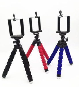 Titular tripé polvo flexível suporte tripé selfie suporte de montagem monopé câmera suporte perna flexível tripé acessórios para iphone 6s samsung câmera